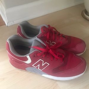 Men's New Balance  Red & Gray size 10.5